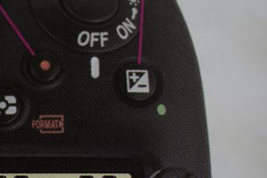 The Exposure Compensation Button