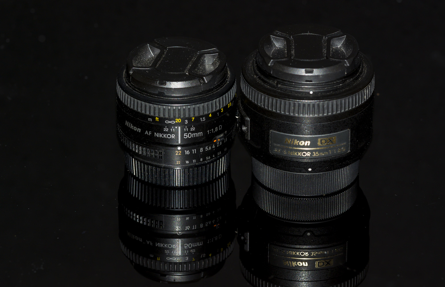 35mm Versus 50mm Prime lens