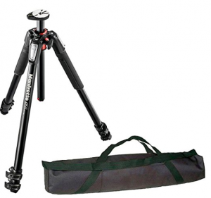 The Fabulous Manfrotto 055 Aluminium Tripod With Carry Case