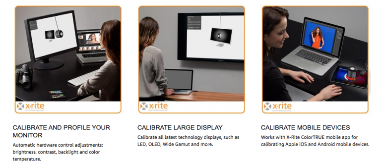 X-Rite-i1-Pro-Calibrates-a-Variety-of-Screens including projectors and mobile units
