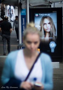 "Street photography is perfect for creating thought provoking photos - the one entitled ""Tag Her"""