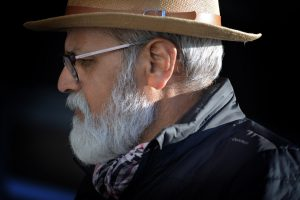 A photo of Ashok Kochhar who made a name for himself in India and New Zealand as an accomplished street photographer