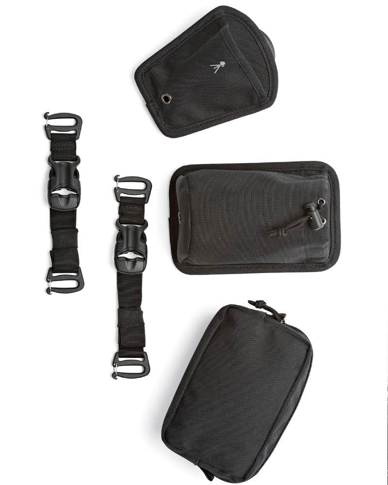 Lowepro Protactic 450 Aw Camera Backpack Extra Pouches And