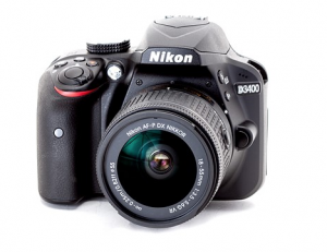 Nikon D3400 - the best camera for a beginner photographer