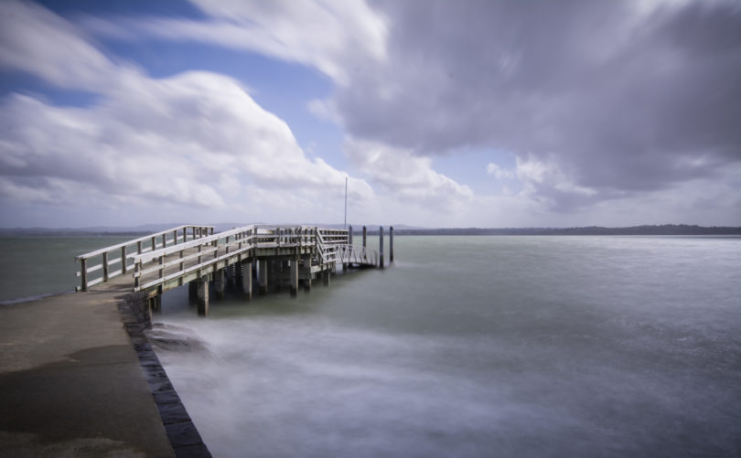 Long exposure seascape taken with the NiSi system and a Lee 10 Stop Neutral Density filter