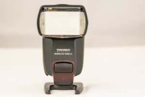 The front view of the yongnuo 560IV flash speed light