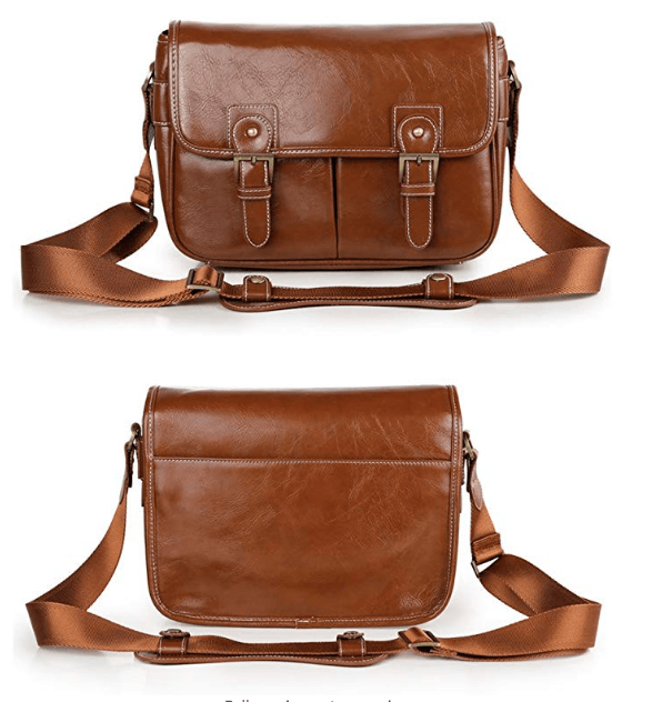 Best Mirrorless Camera Bag The Koolerton Vintage Shoulder Messenger Bag