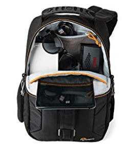 Best Mirrorless Camera Bag The Lowepro Slingshot Edge 150 AW Back Compartment