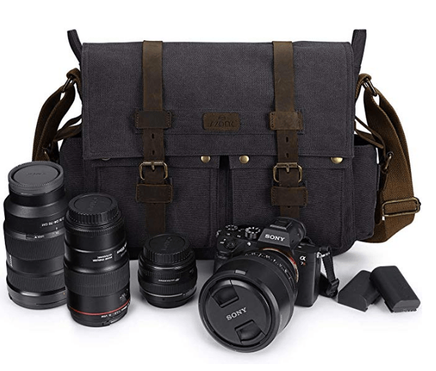 Best Mirrorless Camera Bag The S Zone Vintage Camera Messenger Bag