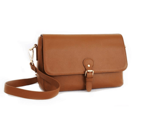 Cute Camera Bags For Women Stylish Tan Leather Messenger Cross Body Bag