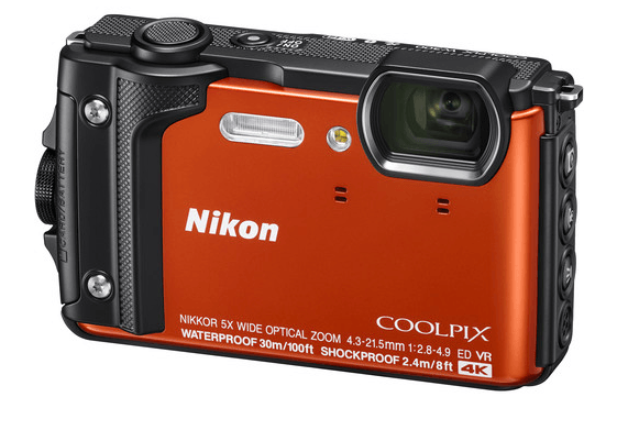 The Best Underwater Camera For Snorkeling pictured here is the Nikon Coolpix W300