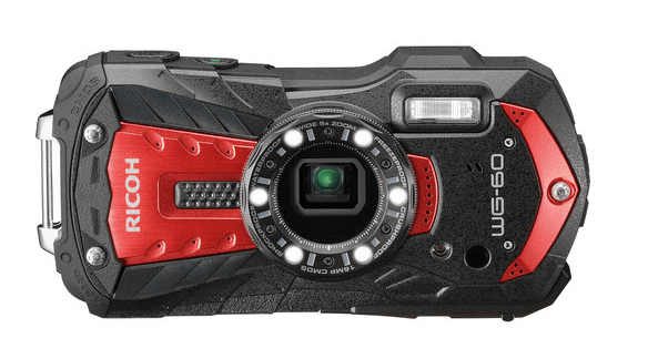 The Best Underwater Camera For Snorkeling pictured here is the Ricoh-WG60