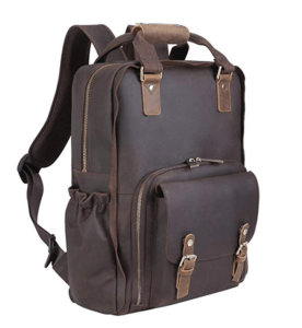 Best Leather Camera Backpack The Tiding All Leather Backpack