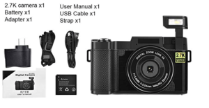 Best Point And Shoot Camera Digital Vlogging Camera and Accessories